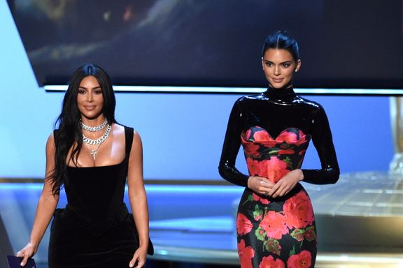 The Audience Laughed At Kim Kardashian And Kendall Jenner's 2019 Emmys Presentation