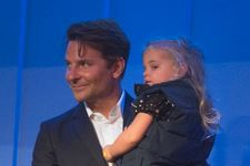 Bradley Cooper Makes Rare Public Appearance With His Daughter Lea