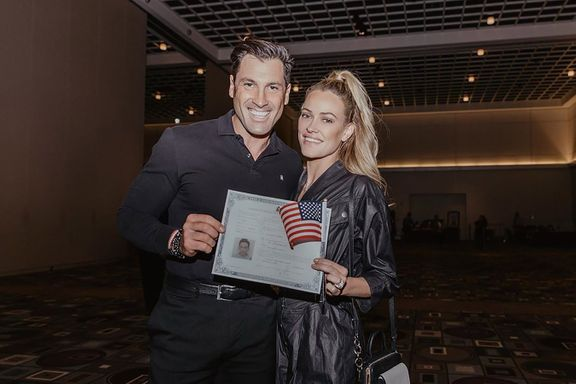 Dancing With The Stars Pro Peta Murgatroyd Celebrates Officially Becoming A U.S. Citizen