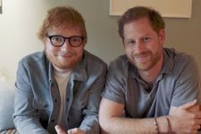 """Prince Harry And Ed Sheeran Team Up As """"Gingers"""" For World Mental Health Day"""