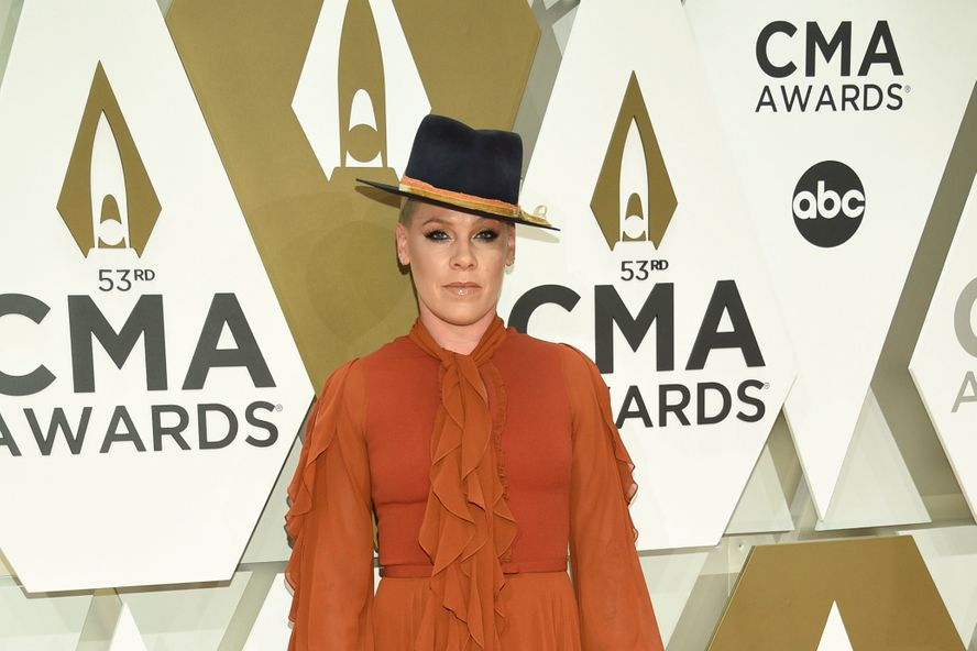 Pink Announces She Will Take A Yearlong Music Break At The 2019 CMA Awards