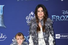 Selena Gomez Matches With Little Sister At Frozen 2 Premiere