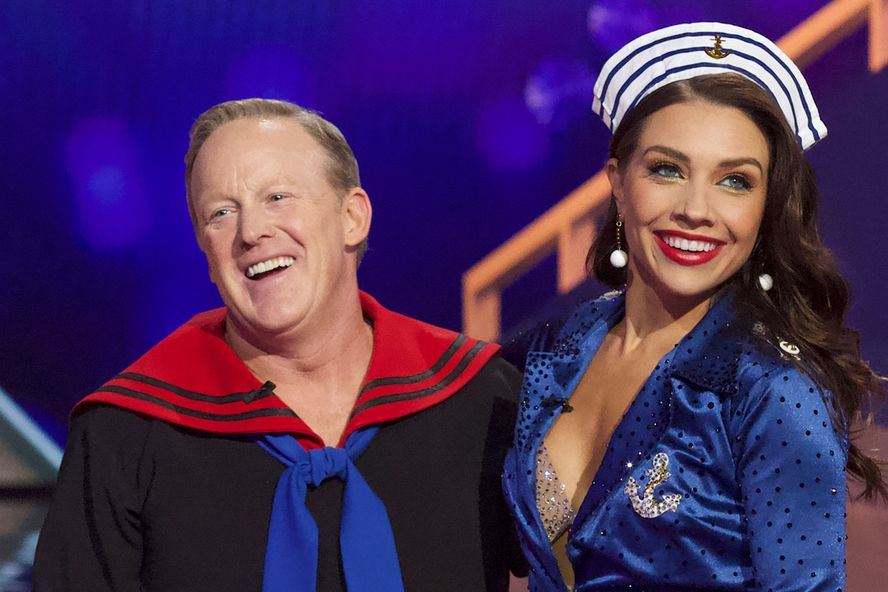 Sean Spicer Dances With Jenna Johnson Again On 'Dancing With the Stars' As Lindsay Arnold Continues To Mourn
