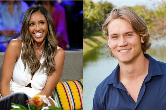 "Bachelor in Paradise's John Paul Jones ""Not Thrilled"" About Ex Tayshia Adams Talking About Their Split"