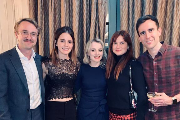 'Harry Potter' Stars Emma Watson, Tom Felton And More Reunite For The Holidays