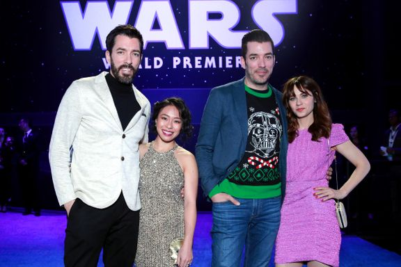 'Property Brothers' Star Jonathan Scott And Zooey Deschanel Have A Double Date Night