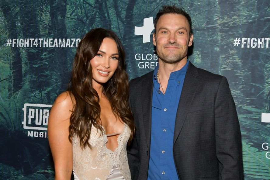 Megan Fox And Brian Austin Green Make Their Red Carpet Appearance For The First Time In Five Years