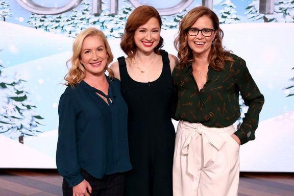 'The Office' Stars Jenna Fischer, Angela Kinsey And Ellie Kemper Reunite On 'The Ellen DeGeneres Show'