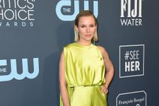 Kristen Bell Just Wore A Neon Green Jumpsuit To The Critics' Choice Awards