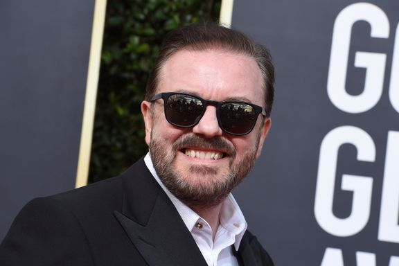 Ricky Gervais Attempted To Shame The Room In His 2020 Golden Globes Monologue