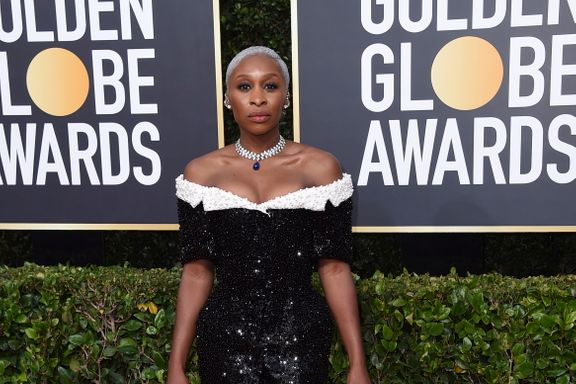 Cynthia Erivo Isn't Sure Why She Didn't Just Wear Jeans To The 2020 Golden Globes