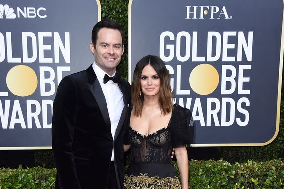 Bill Hader And Rachel Bilson Make Their Red Carpet Debut As A Couple At The 2020 Golden Globes