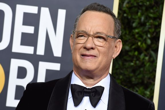 Tom Hanks Chokes Up During Touching Speech While Accepting The Cecil B. deMille Award At The 2020 Golden Globes