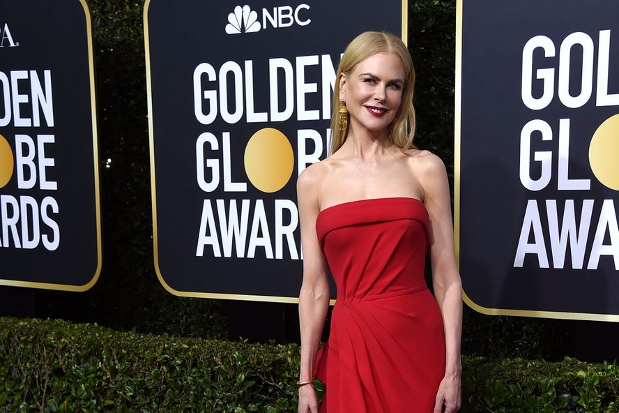 "Nicole Kidman Jokes About Being ""Almost Back On The Right Foot"" As She Recovers From Broken Ankle"