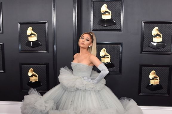 Ariana Grande Channelled A Modern Cinderella For The 2020 Grammys