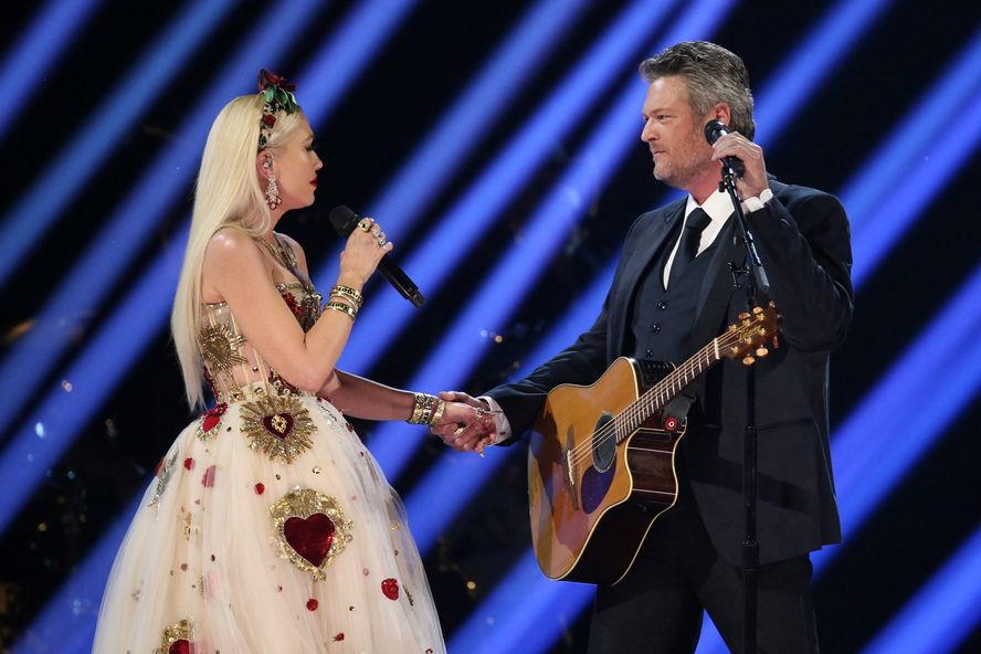 Blake Shelton And Gwen Stefani Get Emotional During Their 2020 Grammys Performance