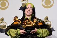 Billie Eilish Makes History At The 2020 Grammys