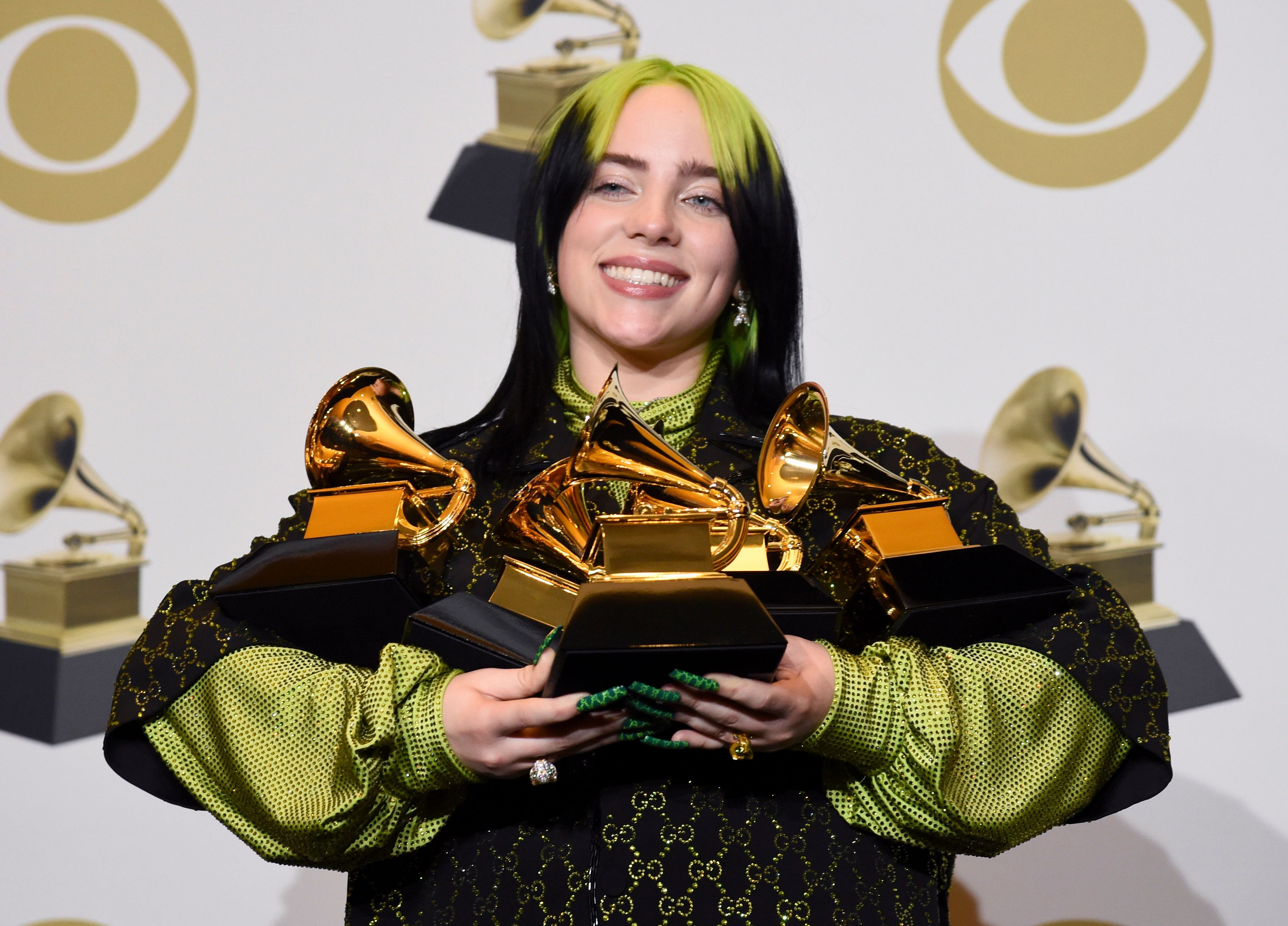 Billie Eilish Makes History At The 2020 Grammys