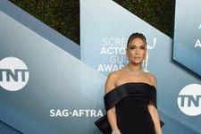 Jennifer Lopez Looks Classy In Black At The 2020 SAG Awards