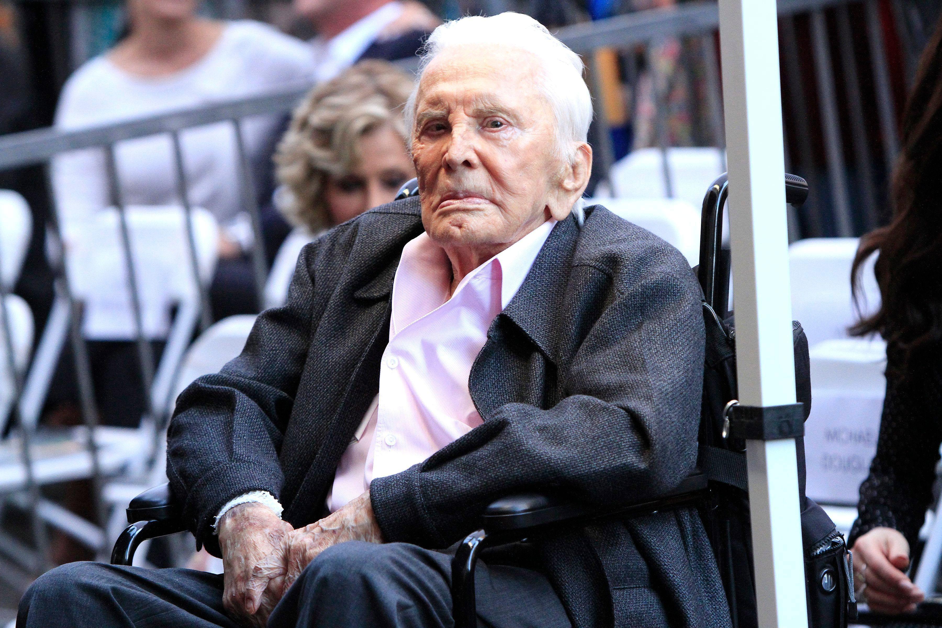 Breaking: Hollywood Icon Kirk Douglas Passes Away At 103 - Fame10