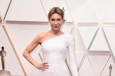 Renée Zellweger Has Another Red Carpet Win In Sleek White Dress At 2020 Oscars