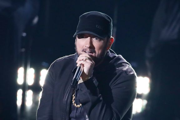 Eminem Explains His Oscars Performance And Reveals Why He Didn't Attend The Awards Ceremony In 2003