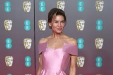 Renée Zellweger Looks Classy In Pink At 2020 BAFTAs