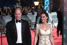 Kate Middleton Dazzles At 2020 BAFTAs In A Recycled Gown From 2012