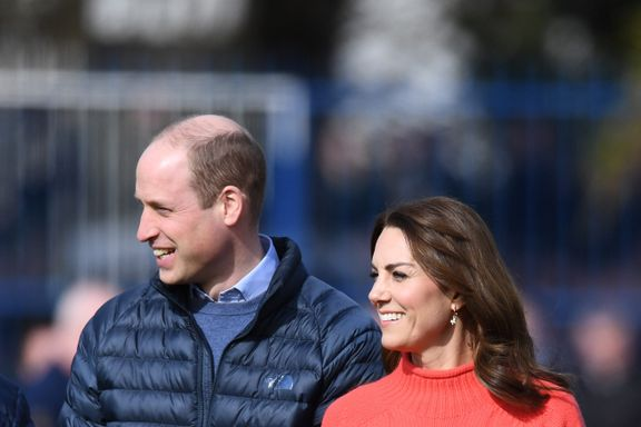 Kate Middleton And Prince William Conduct Video Call To The Children Of Healthcare Workers