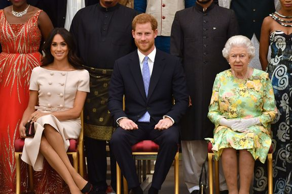 Meghan Markle, Prince Harry And Archie Video Call The Queen for Her Birthday