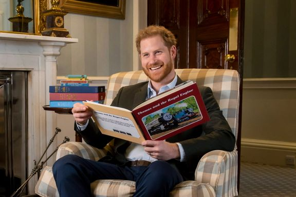 Prince Harry Makes Special Television Appearance For Thomas & Friends' 75th Anniversary