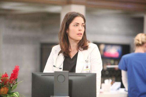 Kelly Thiebaud Exits General Hospital