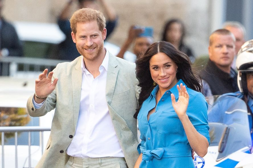 Meghan Markle Recreated The Place Where She And Harry Fell In Love In Their Backyard