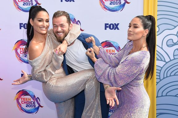 Nikki Bella And Artem Chigvintsev Reveal The Gender Of Their Baby
