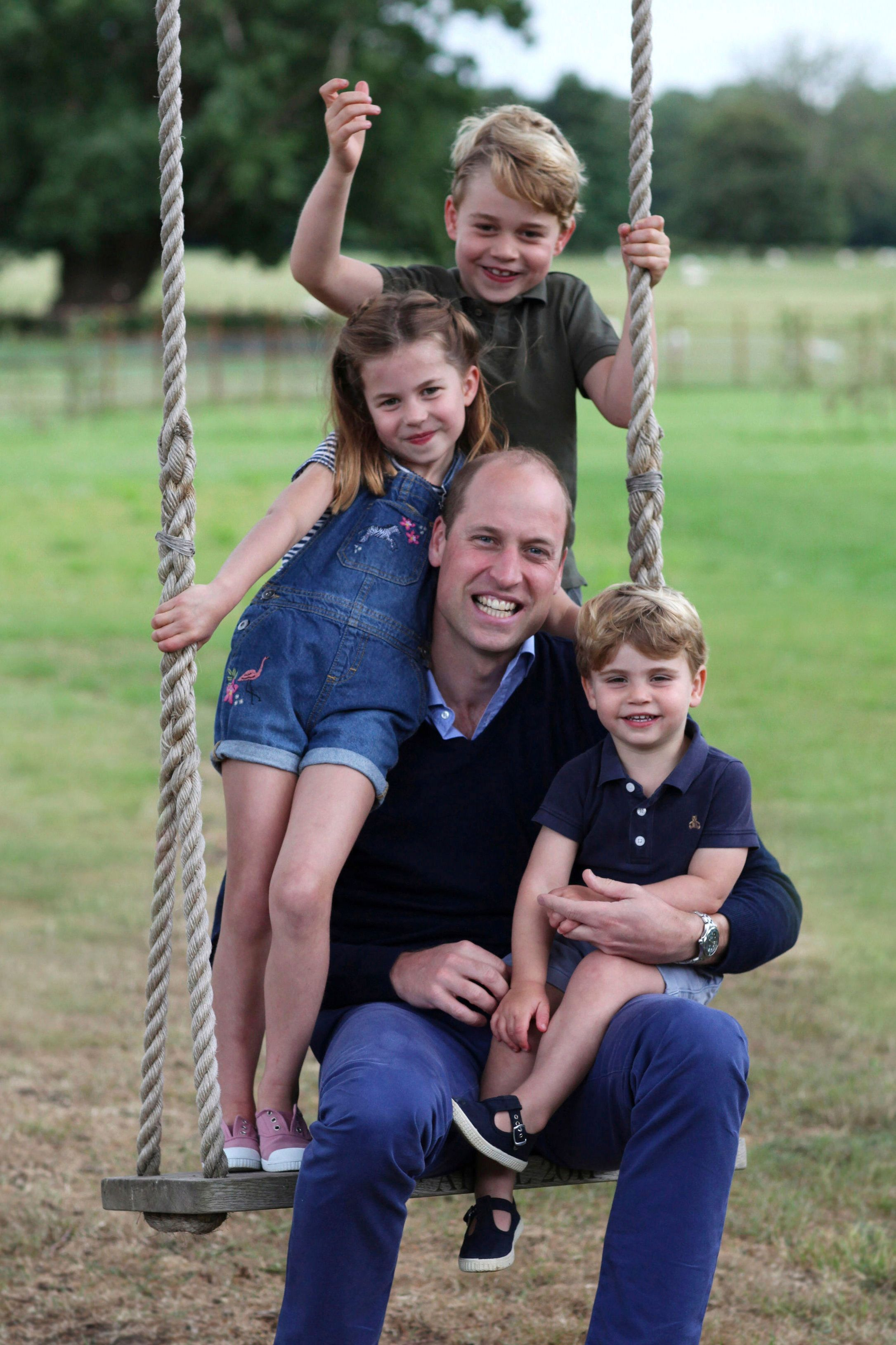Kate Middleton Shares Personal Photo Of Prince William's Dad Moment