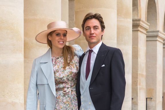 Princess Beatrice Quietly Weds Edoardo Mapelli Mozzi At Windsor Chapel