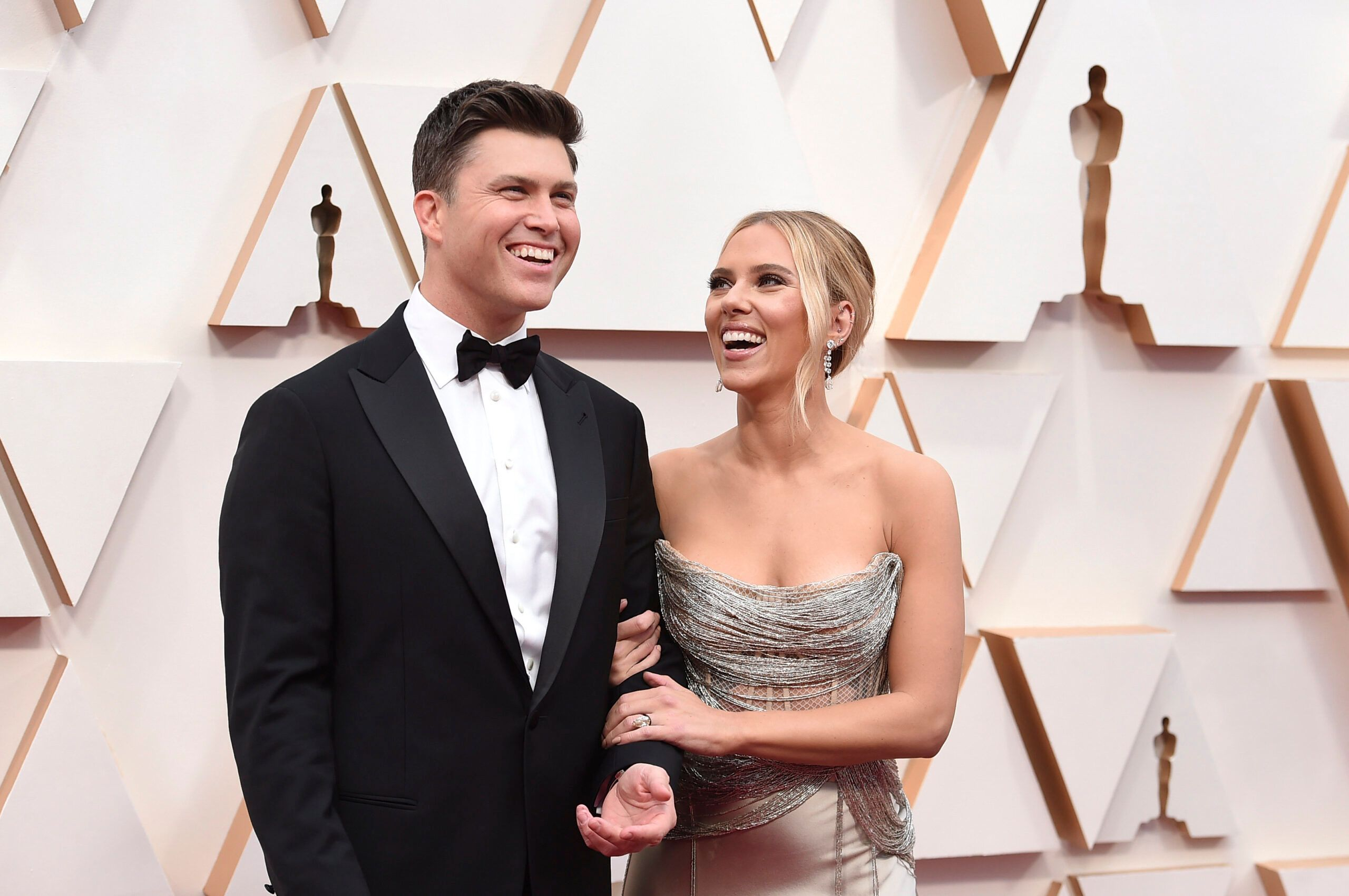 Scarlett Johansson And Colin Jost Tie The Knot In Intimate Ceremony