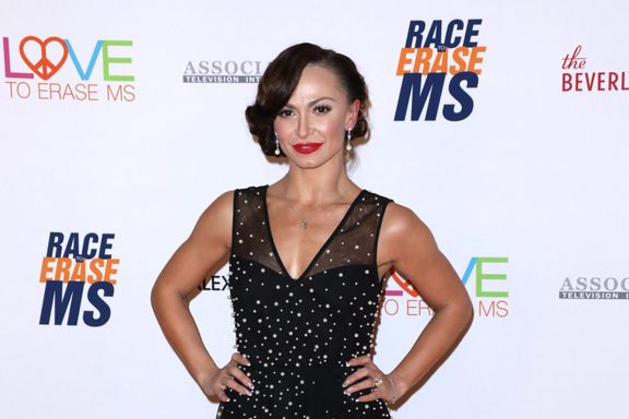 'Dancing With The Stars' Pro Karina Smirnoff Posts First Photo Of Son Theo