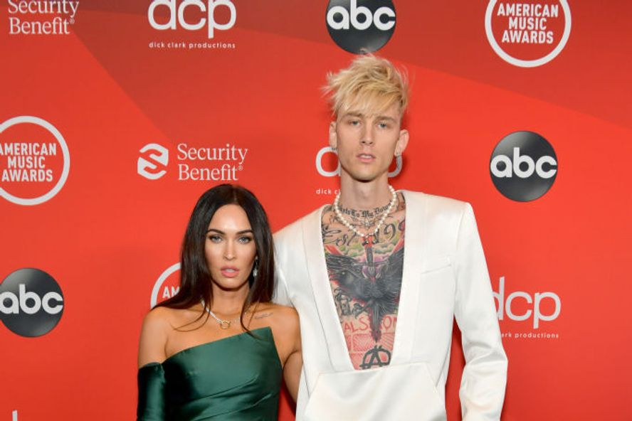 Megan Fox And Machine Gun Kelly Make Their Red Carpet Debut At 2020 American Music Awards