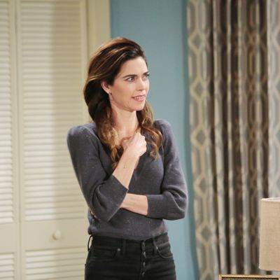 Y&R Weigh In: Is Victoria Trying To Sabotage Lily And Billy's Relationship?
