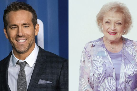 Ryan Reynolds Calls Betty White The 'Funniest Person' In Hilarious Throwback Video