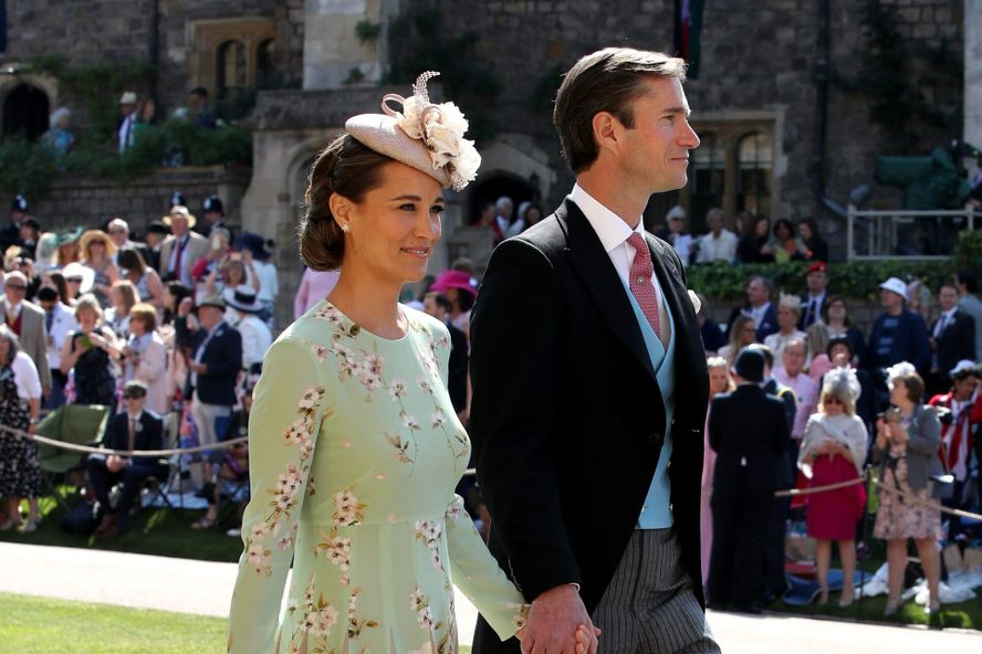 Pippa Middleton Welcomes A Baby Girl With Husband James Matthews