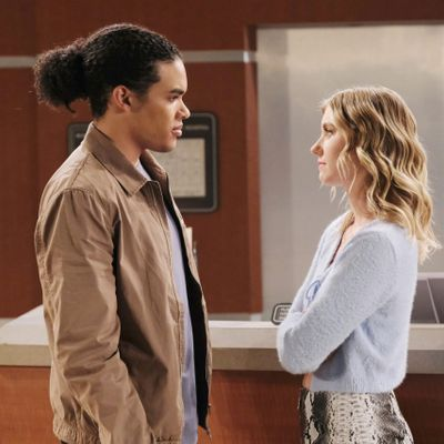 Isabel Durant And Cameron Johnson Exit Days Of Our Lives