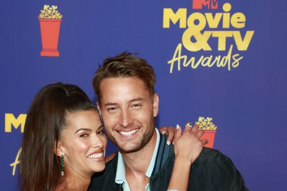 Justin Hartley Makes Red Carpet Debut With Girlfriend Sofia Pernas