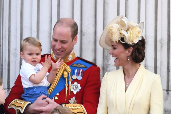 Prince William And Kate Middleton Shared A Never-Before-Seen Photo Of Their Kids For Father's Day