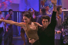 Courteney Cox And Ed Sheeran Recreated Ross And Monica's Dance Routine From Friends