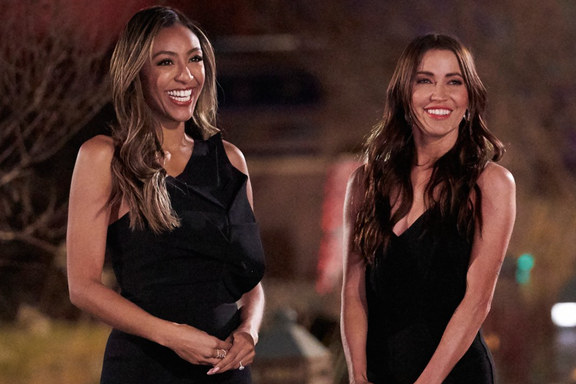 Tayshia Adams And Kaitlyn Bristowe Returning As Co-Hosts Of The Bachelorette For Upcoming Season